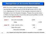 recognition of accounts receivables3