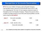 recognition of accounts receivables4