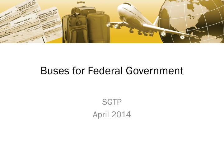 buses for federal government n.