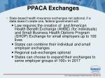 ppaca exchanges