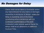 no damages for delay4