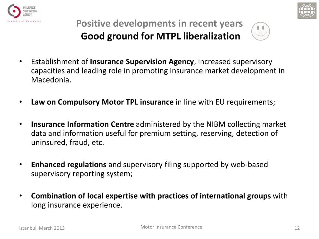 Ppt Mtpl Insurance Market Liberalization Challenges