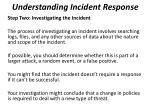understanding incident response2