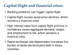 capital flight and financial crises