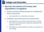 colleges and universities1