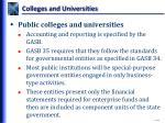 colleges and universities3