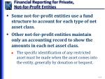 financial reporting for private not for profit entities2