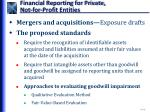 financial reporting for private not for profit entities3