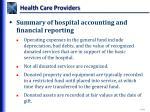 health care providers11