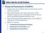other not for profit entities3