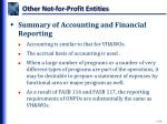 other not for profit entities4