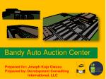 bandy auto auction center