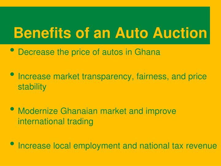 Benefits of an Auto Auction