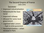 the second empire of france 1852 1870