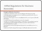 hipaa regulations for business associates1
