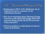 3 8 unearned medicare tax