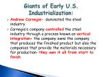 giants of early u s industrialization1