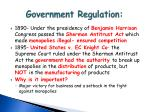 government regulation1