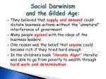 social darwinism and the gilded age1