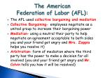 the american federation of labor afl1