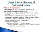 urban life in the age of industrialization2