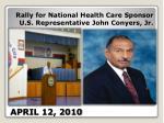 april 12 2010
