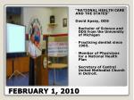 february 1 2010