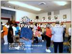 retirees for single payer health care
