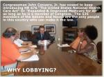 why lobbying
