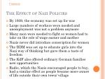 the effect of nazi policies