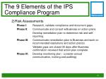 the 9 elements of the ips compliance program1