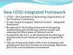 new coso integrated framework