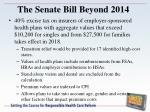 the senate bill beyond 2014