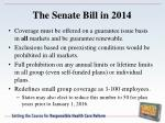 the senate bill in 20141