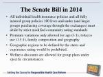 the senate bill in 20142