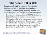 the senate bill in 20143