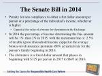 the senate bill in 20145