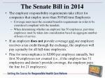 the senate bill in 20147