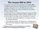 the senate bill in 20148