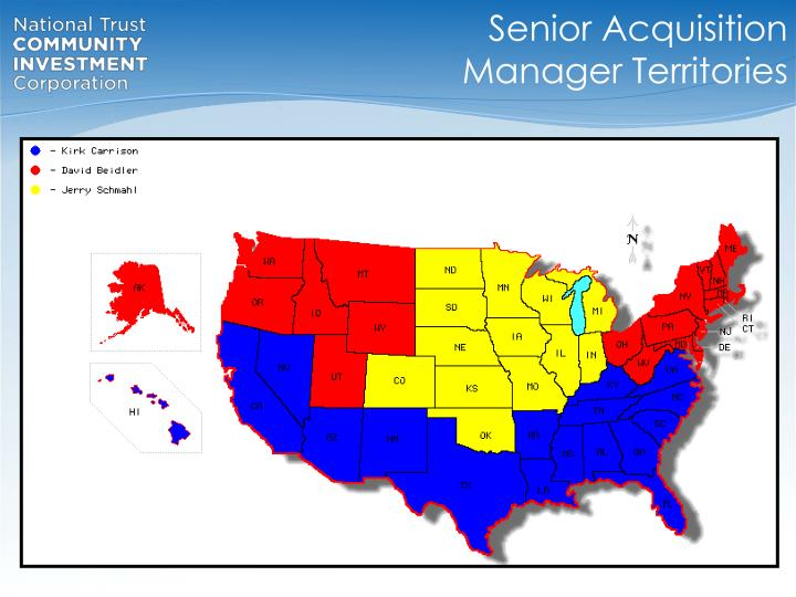 Senior Acquisition Manager Territories
