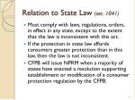 relation to state law sec 1041