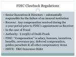 fdic clawback regulations
