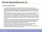 pinnacle actuarial resources inc1