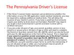 the pennsylvania driver s license10