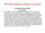 the pennsylvania driver s license14