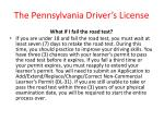 the pennsylvania driver s license21