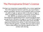 the pennsylvania driver s license23