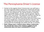 the pennsylvania driver s license33