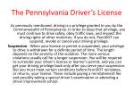 the pennsylvania driver s license35