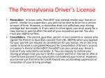 the pennsylvania driver s license36